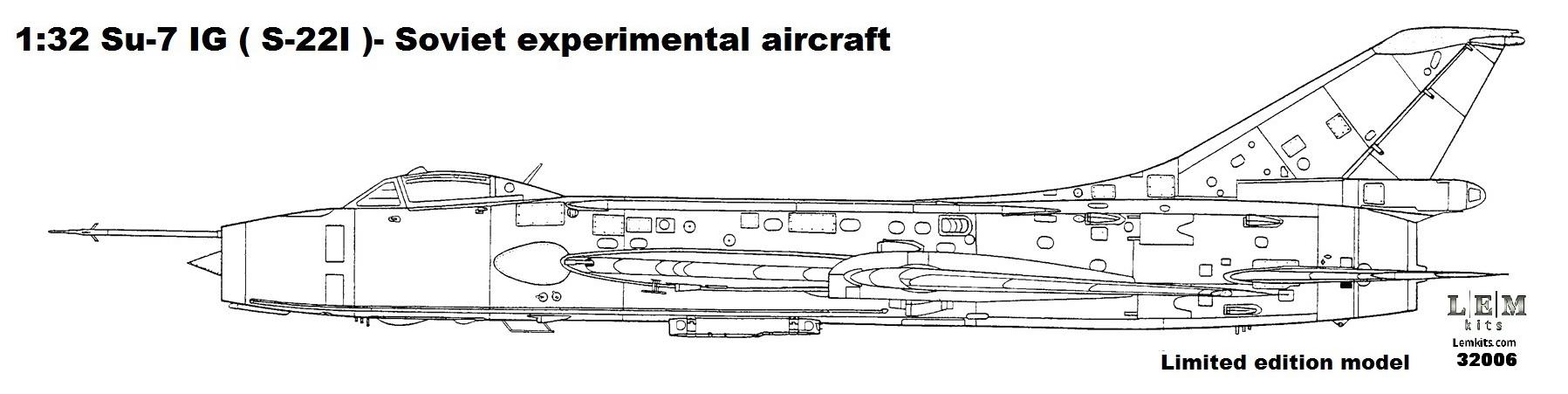 1:32 Su-7 IG ( S-22I ) -Limited edition resin model kit
